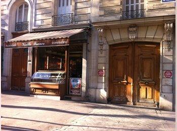 Appartager FR - Chambre dans 2p calme à 120m des Buttes Chaumont (Paris 19ème), 19ème Arrondissement - 625 € /Mois