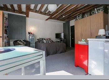 Appartager FR - Studio 27m2 colocation avec personne en mobilité - disponible 22 juillet, 3ème Arrondissement - 850 € /Mois