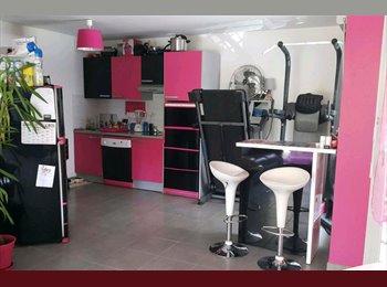Appartager FR - Chambre dans appartement avec jardin à Tassin, Écully - 450 € /Mois