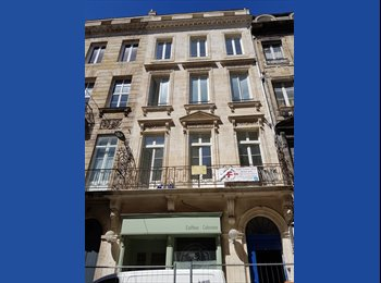 Appartager FR - Colocation dans un grand appartement rénové place Tourny , Bordeaux - 560 € /Mois