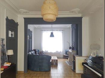 Appartager FR - 4 chambres colocation dans grande maison meublée, Lille - 500 € /Mois