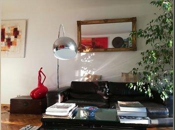 Appartager FR - Appartement 4 Pièces, 84 m2, Parc des Buttes Chaumont, 1 chambre à louer, 19ème Arrondissement - 850 € /Mois