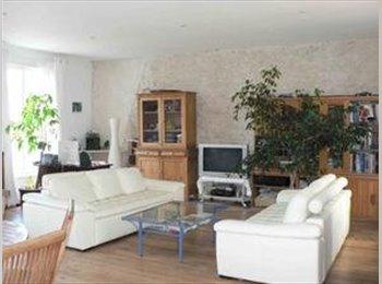 Appartager FR - maison quartier résidentiel 160 m2,à pied centre ville,plage,parcs,commerces, La Rochelle - 360 € /Mois