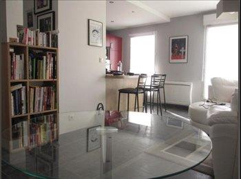 Appartager FR - Chambre meublée dans grand T4 Angers Centre Ville, Angers - 400 € /Mois