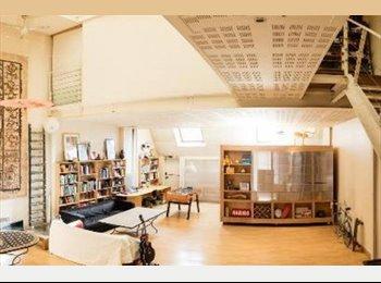 Appartager FR - colocation dans un loft à Gentilly (4 chambres), Gentilly - 690 € /Mois