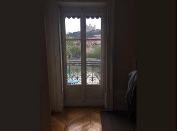 Appartager FR - Chambre à louer dans une Colocation de 2 à Hôtel de Ville, Lyon - 525 € /Mois