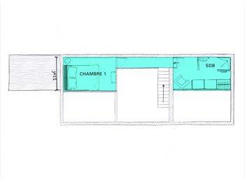 Appartager FR - MAISON D'ARCHITECTE/JARDIN 3 CHAMBRES A LOUER, Châtillon - 800 € /Mois