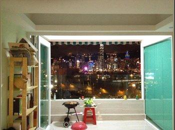 EasyRoommate HK - Big  room with private Bathroom, Jordan - HKD8,600 pcm