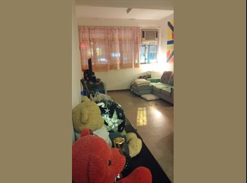 EasyRoommate HK - Share flat of 650 sq. ft.(actual) with balcony, To Kwa Wan - HKD7,600 pcm
