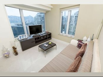 EasyRoommate HK - Double room in a sea view apartment, Hung Hom - HKD10,000 pcm