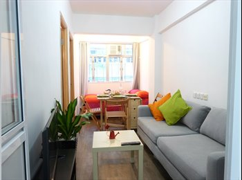EasyRoommate HK - newly decorated  2 BR in Mong Kok, 5min to MTR, Mong Kok - HKD6,900 pcm
