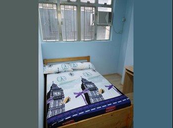EasyRoommate HK - 2 Bedrooms apartment in Causeway Bay with rooftop, Wan Chai - HKD17,000 pcm