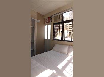 EasyRoommate HK - Deluxe Double bedroom at Savoy Mansion, Tsim Sha Tsui MTR exit B2, Tsim Sha Tsui - HKD6,800 pcm