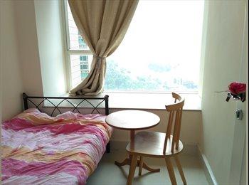 EasyRoommate HK - High floor, Private room, Club house, Swimming Pool, MTR, Tseung Kwan O / Hang Hau - HKD6,500 pcm