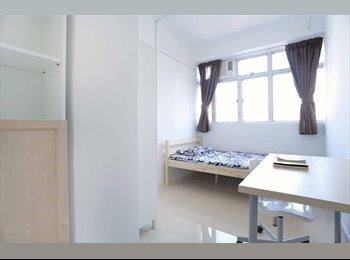 EasyRoommate HK - FROM 17 JUL to 15 AUG ONLY - Single Furnished Room near Mongkok MTR, Mong Kok - HKD5,800 pcm