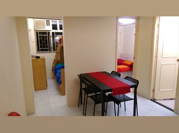 EasyRoommate HK - Mong Kok flatshare: Fully furnished, 3 minutes from MTR, 1000MBPS internet, rent all inclusive!, Tai Kok Tsui - HKD7,000 pcm