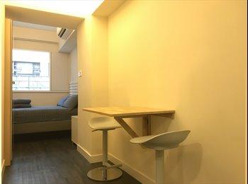 EasyRoommate HK - Large New Studio @ center of Kowloon 1min to MTR, Mong Kok - HKD13,800 pcm