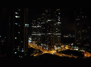 EasyRoommate HK - One big ensuite room with small balcony, Tseung Kwan O / Hang Hau - HKD7,600 pcm