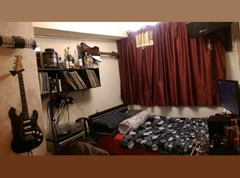 EasyRoommate HK - Master Bedroom in Prince Edward flatshare:  Huge flat with accessible roof! 5 mins walk from MK MTR!, Mong Kok - HKD8,000 pcm