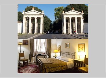 EasyStanza IT - CAMERE SINGOLE AD VILLA BORGHESE VICINO SAPIENZA LUISS, Salario-Trieste - € 600 al mese