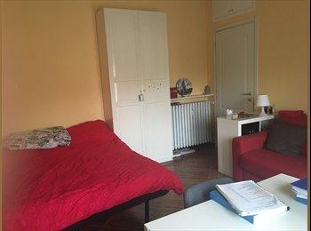 EasyStanza IT - Comoda ampia con balcone privato a pochi minuti a piedi dal centro città, Pavia - € 370 al mese