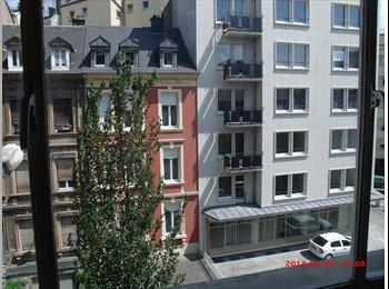 Appartager LU - Chambre simple dans appartement très central, Luxembourg - 525 € / Mois