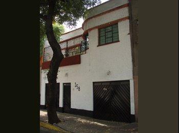 CompartoDepa MX - CUARTO AMUEBLADO A UNA CUADRA DE LA  CONDESA, Cuauhtémoc - MX$5,000 por mes