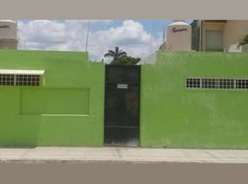 CompartoDepa MX - Rento: Habitaciones PARA VARONES al Norte de la Ciudad., Mérida - MX$2,500 por mes