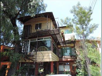CompartoDepa MX - Habitaciones cercanas al centro de coyoacan $3500, Coyoacán - MX$3,500 por mes