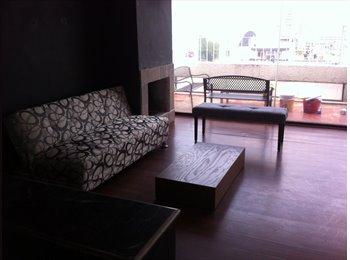 CompartoDepa MX -  Habitación en espacioso PH amueblado, Cuauhtémoc - MX$6,700 por mes