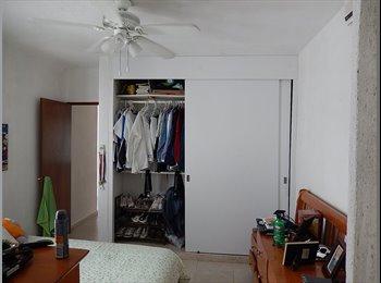 CompartoDepa MX - Habitación Céntrica en Cancún, Cancún - MX$4,000 por mes