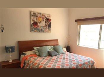 CompartoDepa MX - Hermosa habitación King en residencial privado., Aguascalientes - MX$4,500 por mes