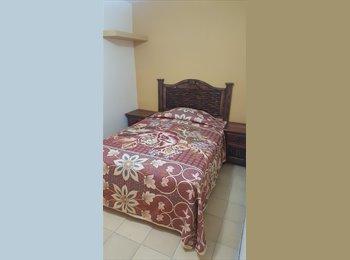 CompartoDepa MX - Rento habitaciones amuebladas, Aguascalientes - MX$1,000 por mes