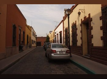 CompartoDepa MX - Cuarto en renta Centro slp!, San Luis Potosí - MX$2,500 por mes