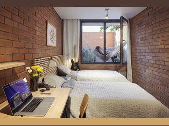 CompartoDepa MX - Habitación doble en bonito depa , San Pedro Garza García - MX$9,800 por mes