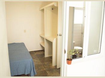 CompartoDepa MX - Cuarto  con baño, en Roma Norte., Cuauhtémoc - MX$6,600 por mes