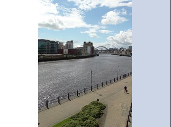 EasyRoommate UK - Luxury 2 floor/ 3 bed Penthouse on Newcastle Quayside / Ouseburn, Byker - £550 pcm