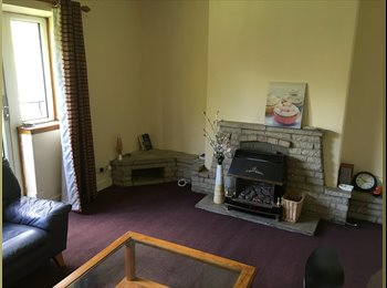 EasyRoommate UK - Double Room in a great flat, west end perfect for contractors / professionals, Whiteinch - £375 pcm