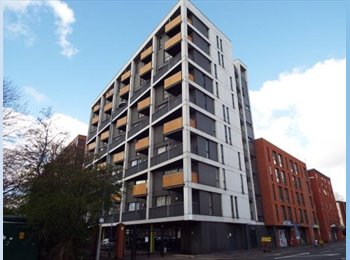 EasyRoommate UK - 3 Bedroom Apartment in Near University! SHORT TERM, Hulme - £400 pcm