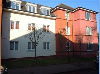 EasyRoommate UK - 1 LOVELY LARGE DOUBLE ROOM IN 3 BED FLAT SHARE, Carrington - £350 pcm