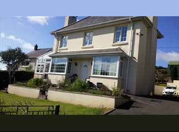 EasyRoommate UK - £ 360/ month All bills. Single Room with Double Beds ( Two Rooms), Llanfarian, Aberystwyth 2.5miles , Aberystwyth - £360 pcm