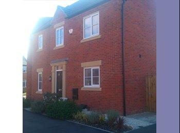 EasyRoommate UK - BRAND NEW HOUSE DOUBLE ROOM, Bedford - £550 pcm