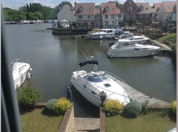 EasyRoommate UK - Abingdon Marina, two rooms available in FSH, Abingdon - £565 pcm