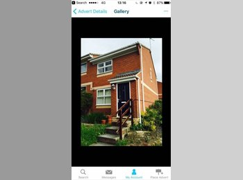 EasyRoommate UK - Churwell 350pm Inc bills single room furnished, Beeston - £350 pcm