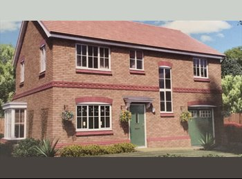 EasyRoommate UK - Large 4 Bed New Build House in Worsley, Stoneclough - £700 pcm
