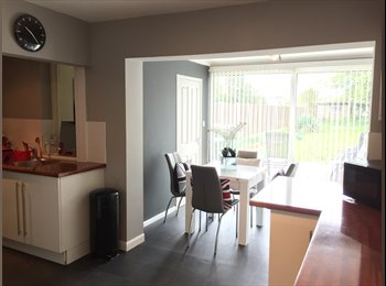 EasyRoommate UK - Furnished Room In A Semi Detached House, Bedworth - £500 pcm