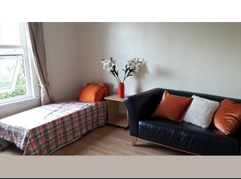 EasyRoommate UK - suit quiet person postgraduate working or studying not a party house nice garden 5min from tube , Bounds Green - £400 pm