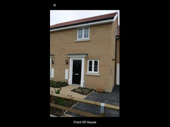 EasyRoommate UK - Double room immediately available, Red Lodge , Bury Saint Edmunds - £450 pcm