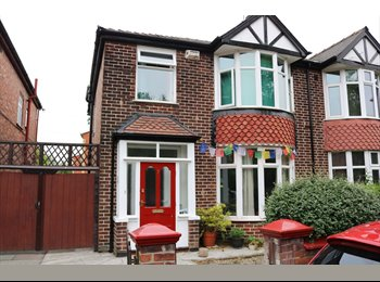 EasyRoommate UK - Room in House, Victoria Park, close to University. , Longsight - £350 pcm