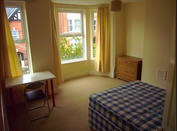 EasyRoommate UK - Four bedrooms available in well-maintained house close to NTU., Forrest Fields - £300 pcm